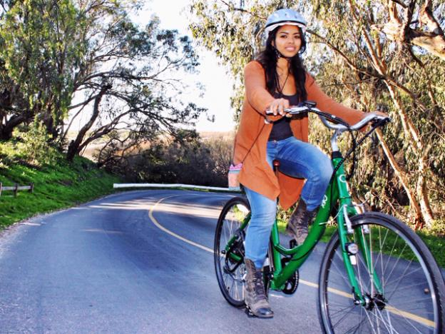 California law currently categorizes e-bikes as motorized vehicles, making them technically illegal on bike paths.