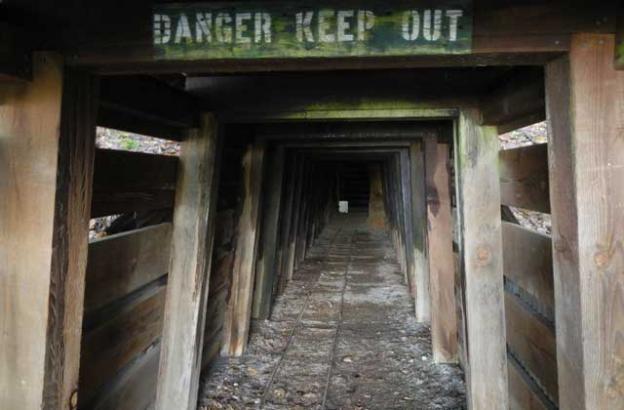 The San Cristobal Tunnel.