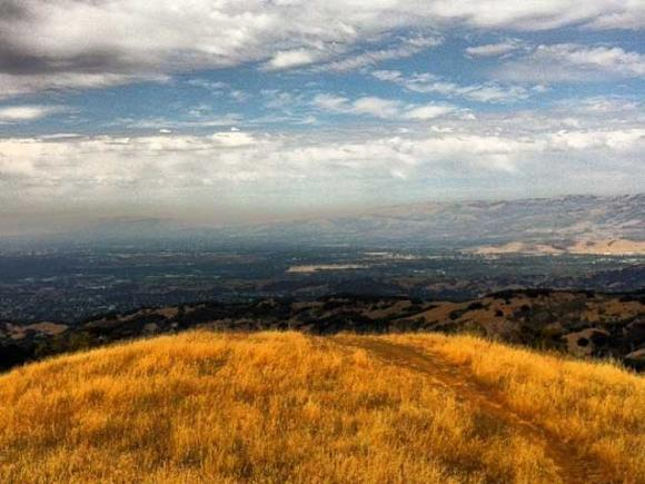 Silicon Valley seen from Bald Mountain. Photo by Diane Main/CC.