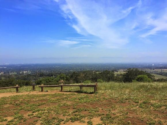 Vista Point (the lower one, as opposed to the one at PG&E and Quarry) is one of the park's most popular destinations. Kelsey Farabee photo.
