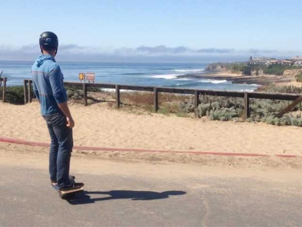 Kyle Doerksen 'surfing to the surf check.'