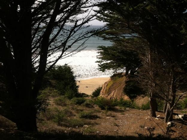 The secluded beach has an intimate feel. Photo by Juliette Spirson.