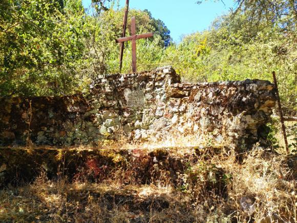A memorial to a pioneer of American literature sits unseen 10 miles west of Gilroy.